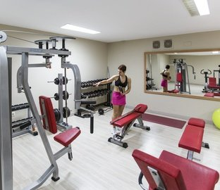 Fitnesssaal  Vincci Costa Golf Chiclana